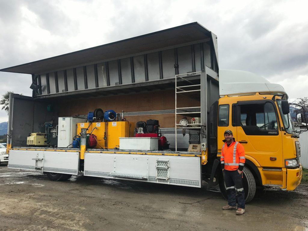 Fissenden Bros Service Truck