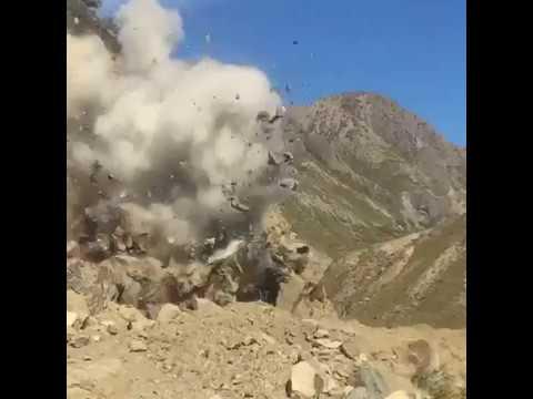 Fissenden Bros rock blasting